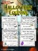 Halloween Passes {FREEBIE}