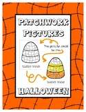 Halloween - Patchwork Pictures - 11 Picture with Word Colo