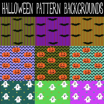 Halloween Pattern Backgrounds