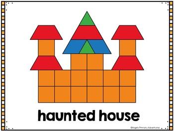 Halloween Pattern Block Mats