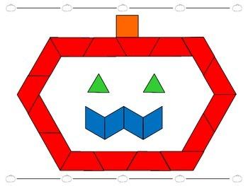 Halloween Pattern Blocks