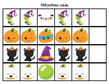 Halloween Pattern Cards