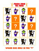 Pattern Puzzles Halloween Themed for K - 2nd grade Math