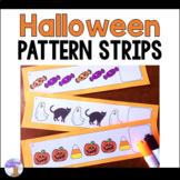 Halloween Pattern Strips