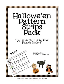 Hallowe'en Pattern Strips Pack