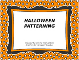 Halloween Patterning
