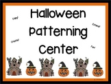 Halloween Patterning Center
