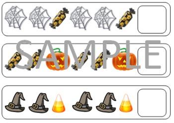 Halloween Patterning Game