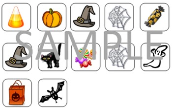 Halloween Patterning Game