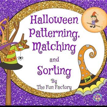 Halloween Patterning, Matching and Sorting {PK/K}