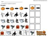 Halloween Patterning Sheet
