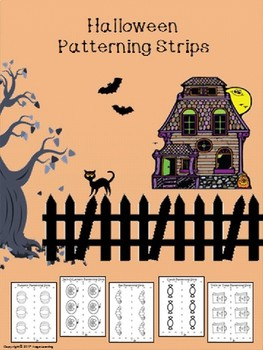 Halloween Patterning Strips