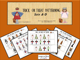 Halloween Patterning Trick or Treat Math Activity