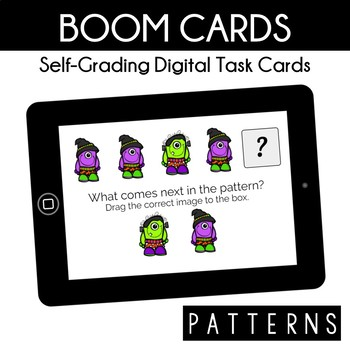 Halloween Patterns - Boom Cards