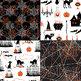 Orange and Black Halloween Patterns