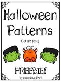 Halloween Patterns FREEBIE