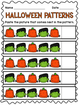 Halloween Patterns Freebie