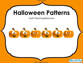 Halloween Patterns - Powerpoint and worksheet