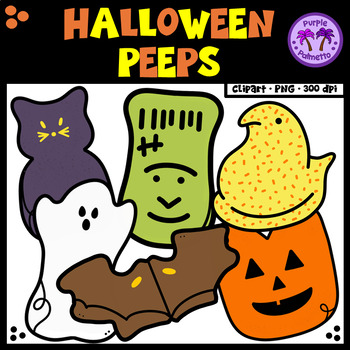 Halloween Peeps Clipart