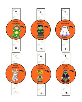 Halloween Pencil Slides