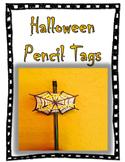 Halloween Pencil Tags