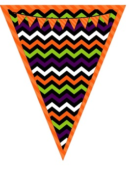 Halloween Pennant Banners {2 for 1}