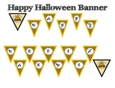 Halloween Pennant Banners