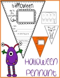 HALLOWEEN Pennant & MONSTER Drawing