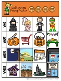 Halloween Penny Pusher:  Listening Comprehension Stories