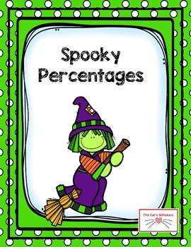 Halloween Percentage Word Problems
