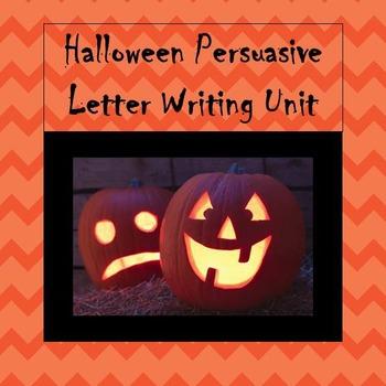 Halloween Persuasive Letter Writing