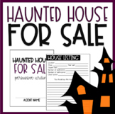 Halloween Themed Persuasive Writing | Haunted House For Sale