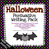 Halloween Writing Prompts - Persuasive Writing Prompts - Opinion Writing