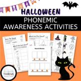 Halloween Phonemic Awareness Activities