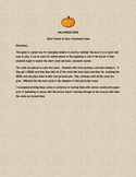 Halloween  Closed Syllable Game -