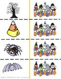 Halloween Phonics Memory Game