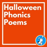 Halloween Poetry: Halloween Phonics Poems