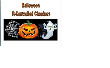 Halloween Phonics R-Controlled Checkers