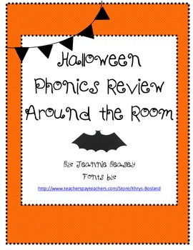 Halloween Phonics Review