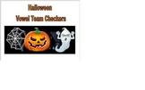 Halloween Phonics Vowel Team Checkers