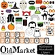 Halloween Photo Booth Clip Art - 60 PNG, Jpeg and Vector I