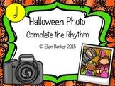 Halloween Photo Complete the Rhythm