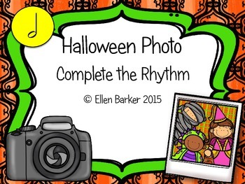 Halloween Photo Complete the Rhythm