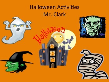 Halloween Physical Education Activities