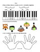 Halloween Piano Prep Worksheets