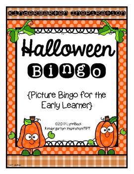 Halloween Picture Bingo