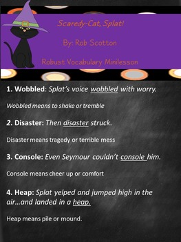 Halloween Picture Book Extensions