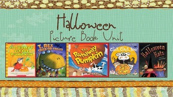 Halloween Picture Book Unit