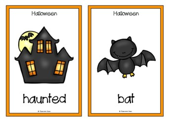 Halloween Picture Cards