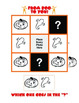 Halloween Pattern Puzzles for K - 2: Cut n' Serve!